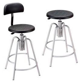 Interion® Polyurethane Shop Stool