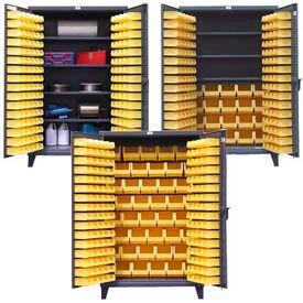 All-Welded 12 Gauge Extra Heavy Duty Bin Cabinets