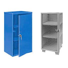 All-Welded Heavy Duty Narrow Security Storage Cabinets