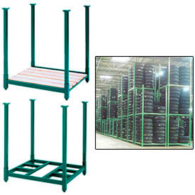 Beau Steel King   Portable Stack Racks With Deck