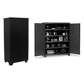 All-Welded Heavy Duty 14 Gauge Storage Cabinets