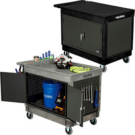 Industrial Strength Plastic Security Mobile Work Center