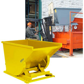Self-Dumping Steel Forklift Hoppers