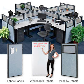 Interion® Standard Office Cubicle Partitions