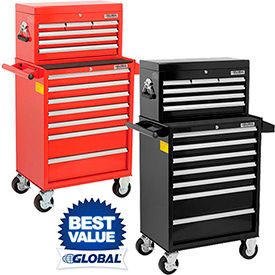 Global™ Industrial Tool Chests & Roller Cabinets