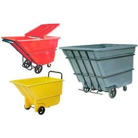 Bayhead Products Plastic Tilt Trucks - up to 2.2 Cu. Yd. Capacity