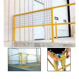 Modular Square Steel Guard Rails