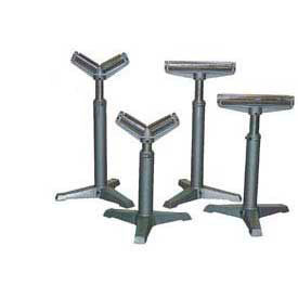 Portable Roller Stands with Manual Height Adjustment