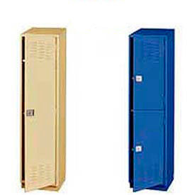 "Heavy Duty Extra Wide Welded Steel Lockers-18""W"
