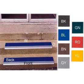 Grit Surface Aluminum Stair Treads - Standard Sizes