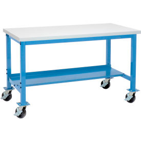 Global Industrial™ Mobile Production Workbenches
