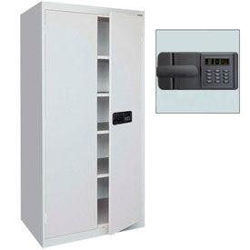 Keyless Electronic Keypad Welded Storage Cabinets