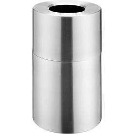 Global Industrial™ Aluminum Open Top Trash Cans