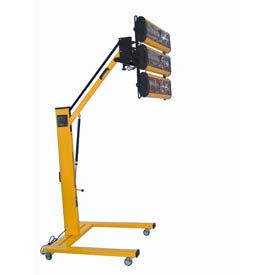 Mobile Adjustable Infrared Heaters