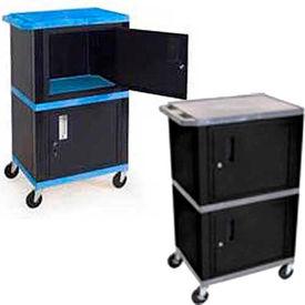 Industrial Plastic Shelf Mobile Storage Cabinet Trucks