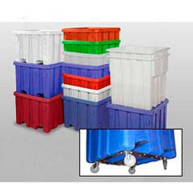 Meese Orbitron Dunne Nestable Plastic Storage Bulk Containers