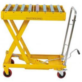 Mobile Hydraulic Scissor Lifts Battery Powered Electric