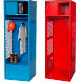 Steel Gear Lockers with Open Front