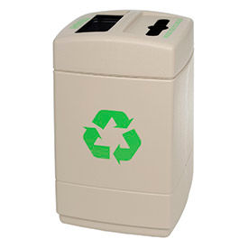 Dual Capacity Recycling Containers