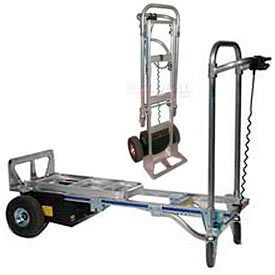 Wesco® Battery Powered CobraPro Convertible Motorized Aluminum Hand Trucks