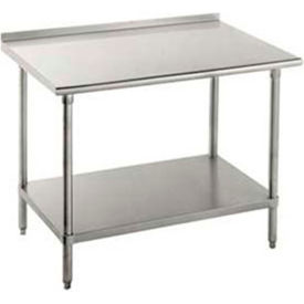 Stainless Steel Workbenches - 1-1/2 Inch Backsplash