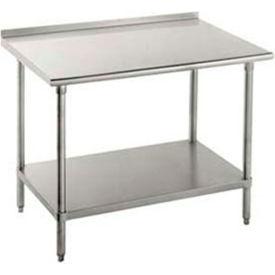 Stainless Steel Workbenches - 1-1/2 Inch Backsplash