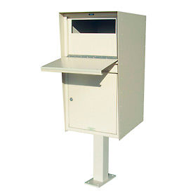 Drop Box Lockers with Optional Post - Front Access