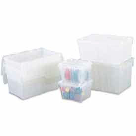 ORBIS Flipak® Clear Containers With Hinged Lids