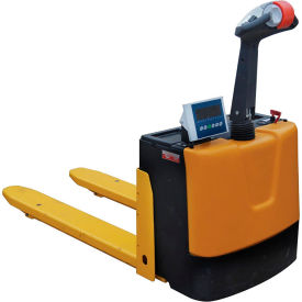 Self-Propelled Electric Pallet Jack Scale Truck