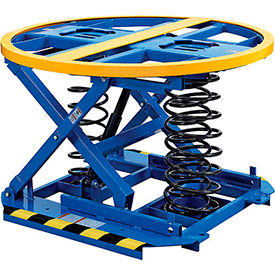 Spring-Operated Self-Leveling Pallet & Skid Carousel Positioners