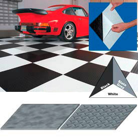 Vinyl Tile Matting With Adhesive Backing