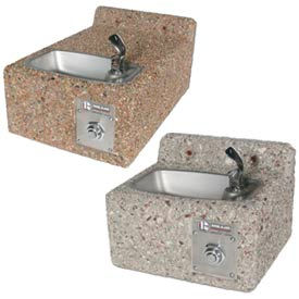 Concrete Wall Mount Drinking Fountains