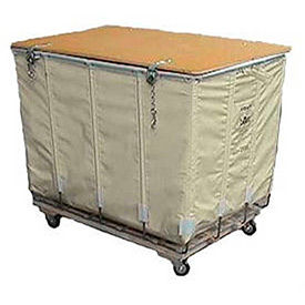 Dandux Shipping Hamper Trucks with Lockable Lid
