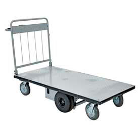 Mid-Axle Drive Motorized Electric Platform Cart