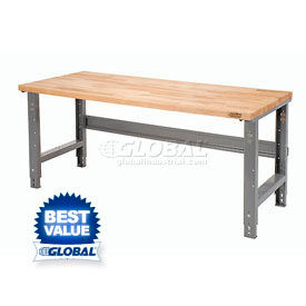 C-Channel Open Leg Adjustable Height Workbenches