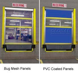 Dock Amp Truck Equipment Dock Seals Shelters Amp Roll Up Doors Tmi Screen Pro Roll Up Bug Dock