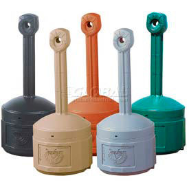 Justrite® Smokers  Cease-Fire® Cigarette Receptacles