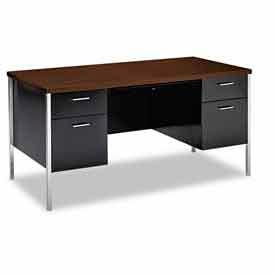 Hon® Steel Double Pedestal Desks