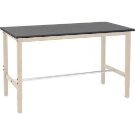 Heavy Duty Height Adjustable Lab Bench - Tan