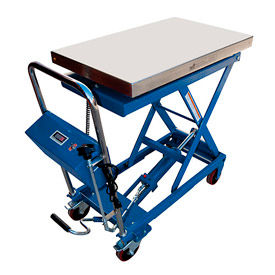 Mobile Scissor Lift Table with Integral Scale