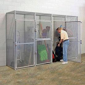 Hallowell® Bulk Tenant Storage Lockers