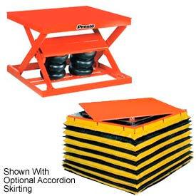 PrestoLifts™ Air Bag Pneumatic Scissor Lift Tables