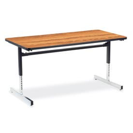 Virco® - 8700 Series Height Adjustable Training Tables