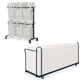 Virco® - Mobile Chair & Table Carts