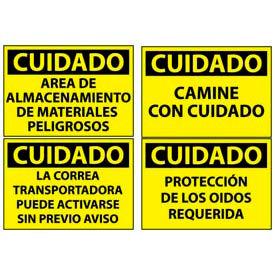 Spanish Caution Signs