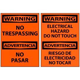 Bilingual Warning Signs