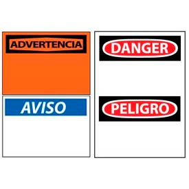 Bilingual And Spanish Language Sign Headers