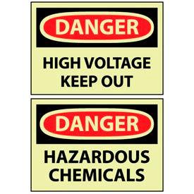 OSHA Safety Glow Signs