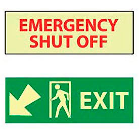Glow - Fire Safety Signs