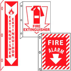 Flange Fire Extinguishers & Safety Signs